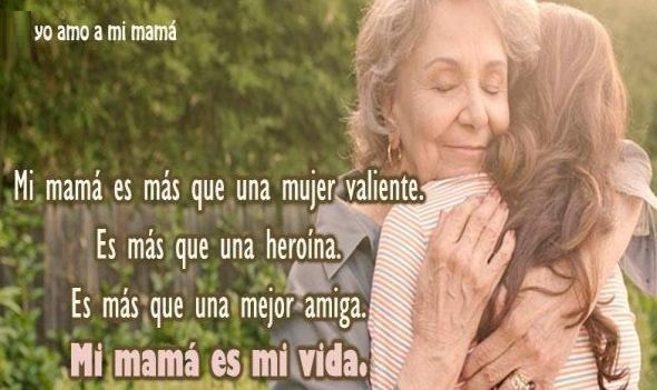 dedicatoria a mamá