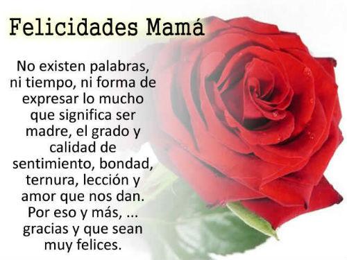 dedicatorias para el día de la madre