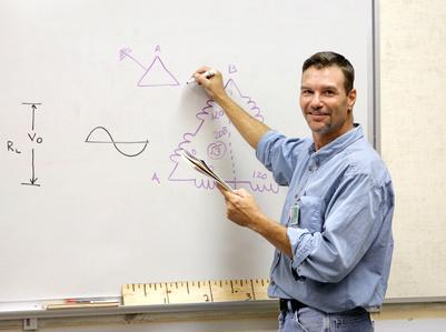 A handsome teacher