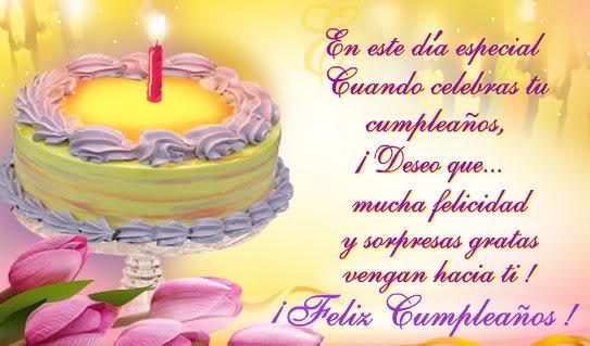 dedicatoria de cumpleaños a una amiga