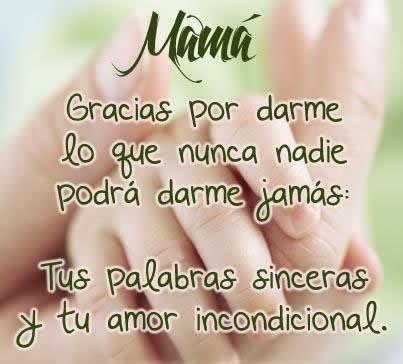 dedicatoria día de la madre