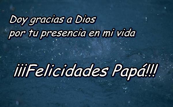 dedicatorias de amor para el día de padre